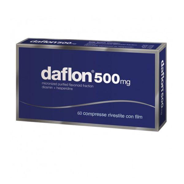 Daflon 60 Compresse Rivestite 500 mg - Flavonoidi Vasoprotettore
