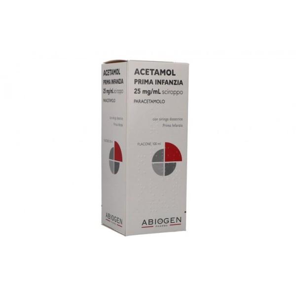 Acetamol Prima Infanzia Paracetamolo Sciroppo 100 ml