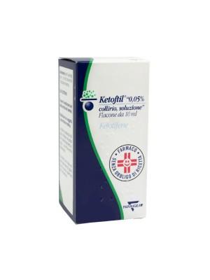 Ketoftil Collirio Antiallergico 1 Flacone 10 ml 0,5mg/ml
