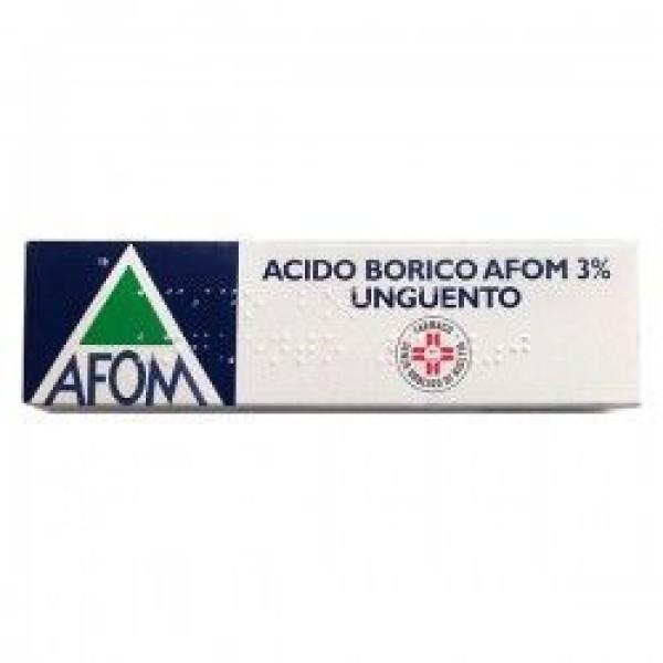 Acido Borico Afom 3% Unguento 30 grammi