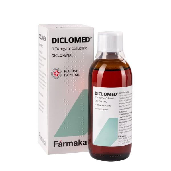 Diclomed Collutorio Antinfiammatorio 200ml