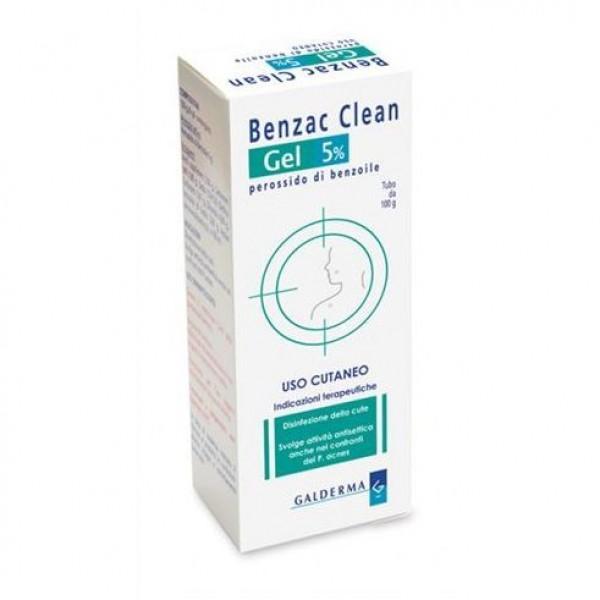 Benzac Clean Gel 5% 100 grammi