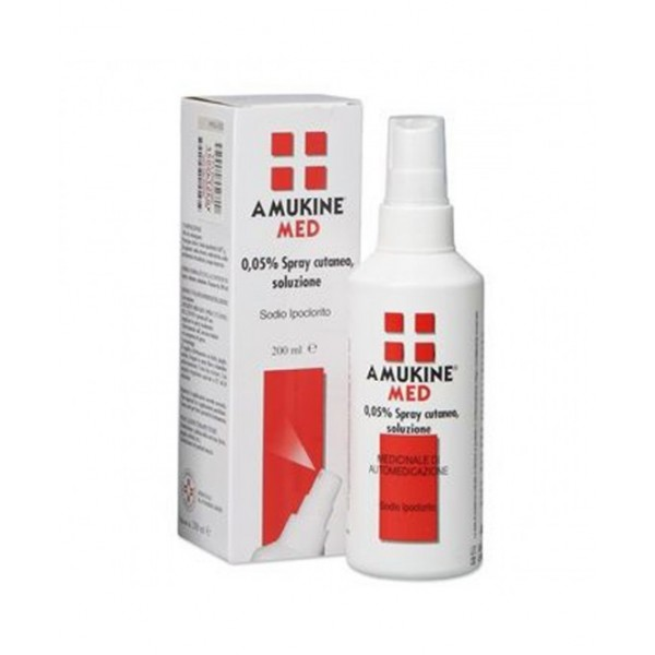 Amukine Med Spray Disinfettante Cutaneo 200ml