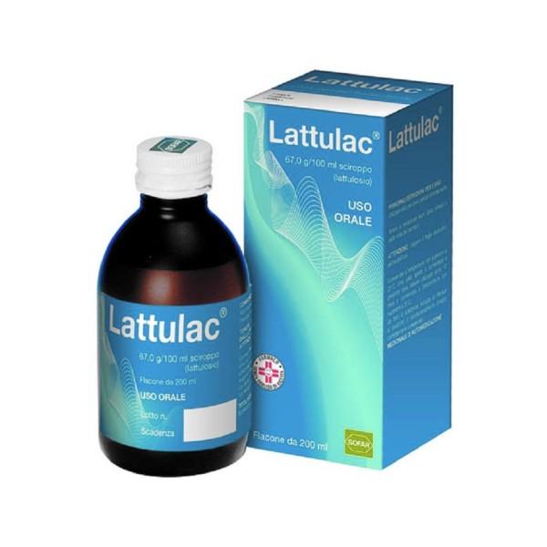 Lattulac Sciroppo Lassativo 200 ml 67g/ 100 ml