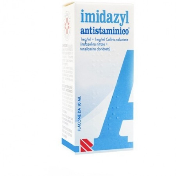 Imidazyl Antistaminico 1mg/ml Nafazolina Nitrato Collirio 10 ml