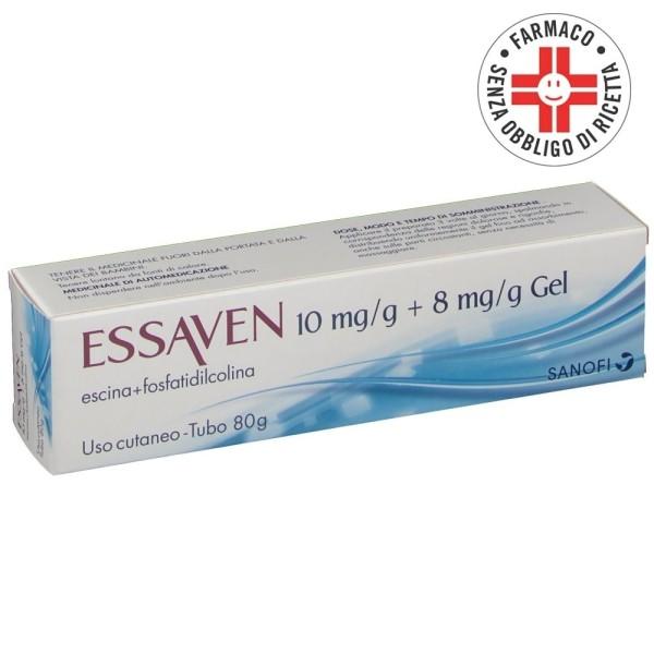 Essaven Gel Escina Fosfatidilcolina Tubo 80 grammi