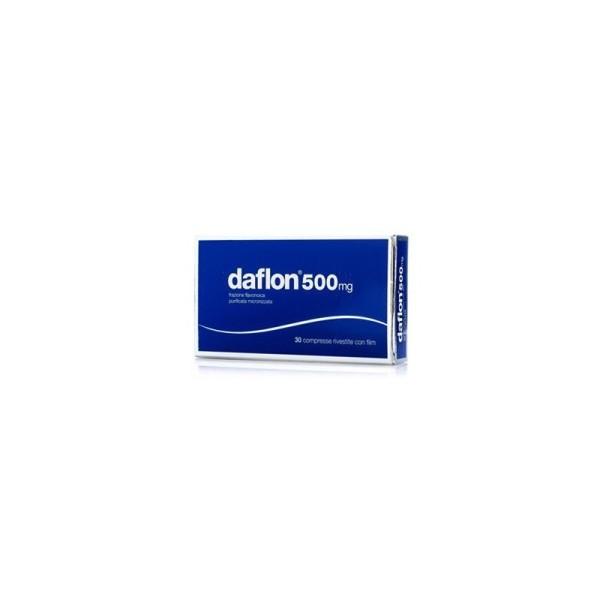 Daflon 30 Compresse Rivestite 500 mg - Flavonoidi Vasoprotettore