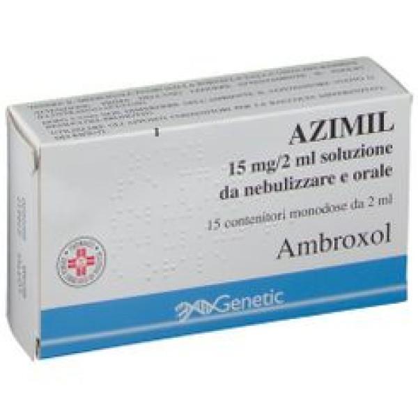 AZIMIL Nebul.15fl.2ml 15mg