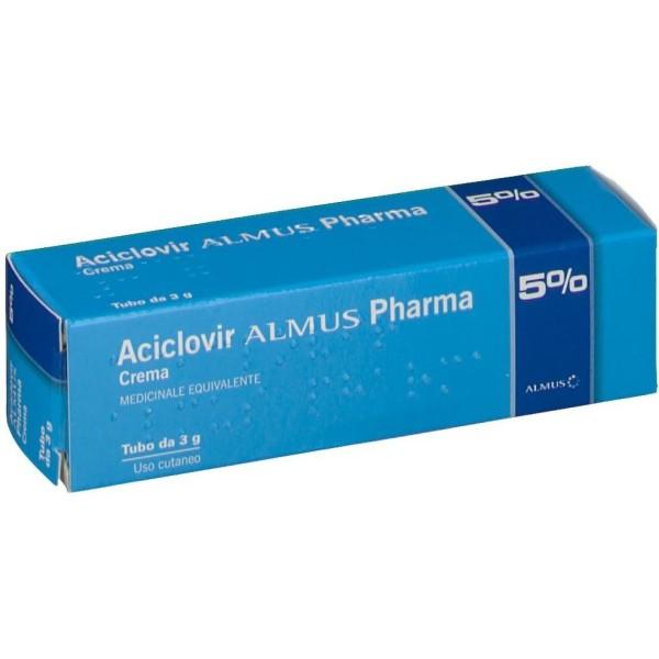 ACICLOVIR Crema 3g 5% ALMUS