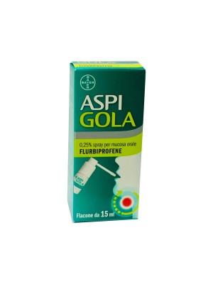 Aspi Gola Spray 0,25% 15 ml