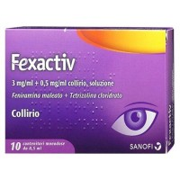 Fexactiv Collirio Antiallergico Monodose 10 Flaconcini da 0,5ml