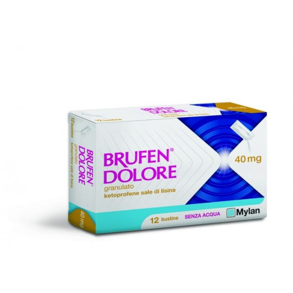Brufen Dolore 40 mg 12 Bustine