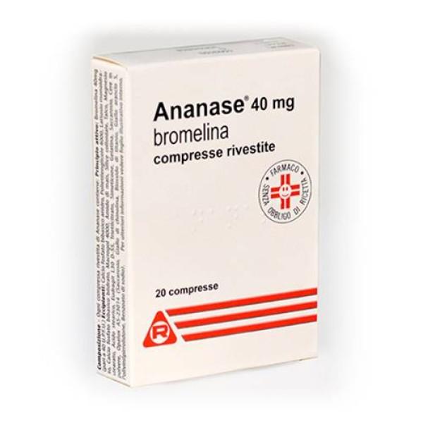 Ananase 20 Compresse Rivestite  - Integratore Alimentare