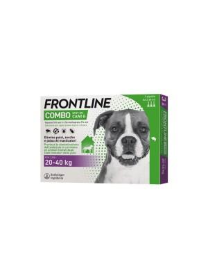 Frontline Combo Soluzione Spot-On Cani Taglia 20-40 kg 3 Pipette Monodose