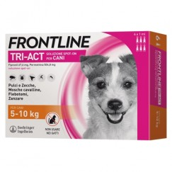 Frontline Tri-Act 3 Pipette Cani 5-10Kg 1ml