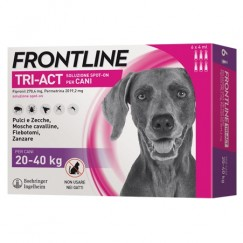 Frontline Tri-Act 3 Pipette Cani 20-40Kg 4ml