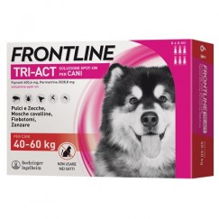 Frontline Tri-Act 3 Pipette Cani 40-60Kg 6ml