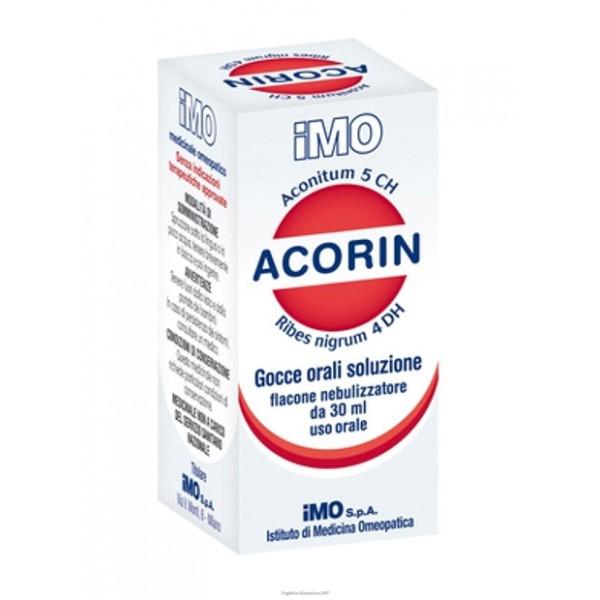 ACORIN Gtt S/Alcol 30ml