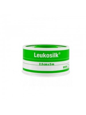 CER ROC LEUKOSILK 2,5X500CM