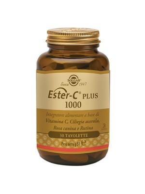 Solgar Ester C Plus 1000  30 Tavolette - Integratore di Vitamina C