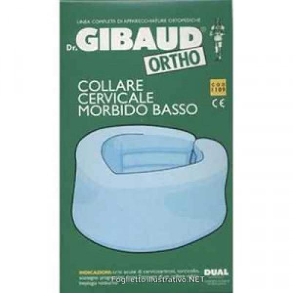 Dr.Gibaud Ortho Collare Cervicale Morbido Azzurro Taglia 1