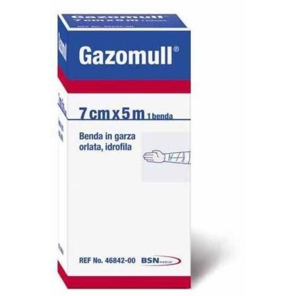Gazomull Benda Orlata 5 m x 7 cm