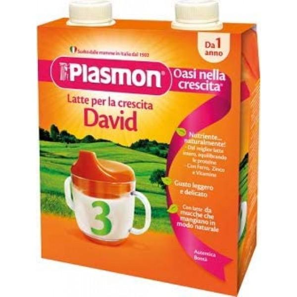 Plasmon David Latte Liquido 2 x 500ml