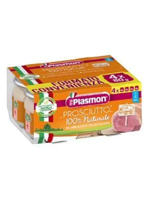 Plasmon Omogeneizzato Prosciutto Cotto 4 x 80 grammi