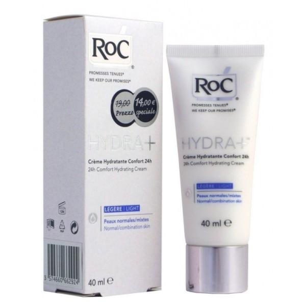 RoC Hydra+ Crema Idratante Viso Comfort Leggera 40ml