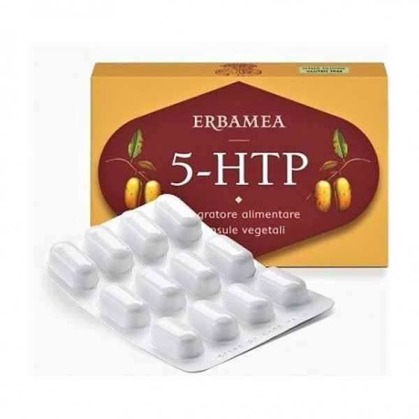 5-HTP 24 Capsule Vegetali - Integratore Alimentare