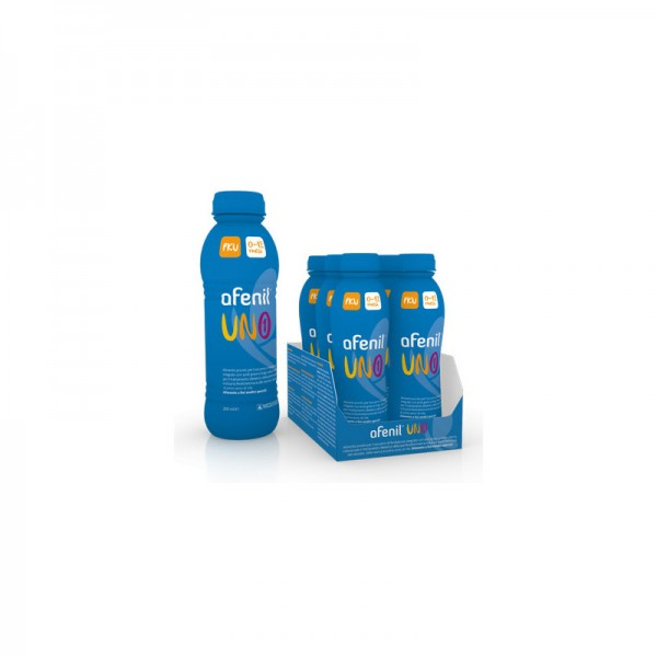 Afenil 1  Alimento Speciale per Neonati con Amminoacidi 6 Flaconi x 200 ml