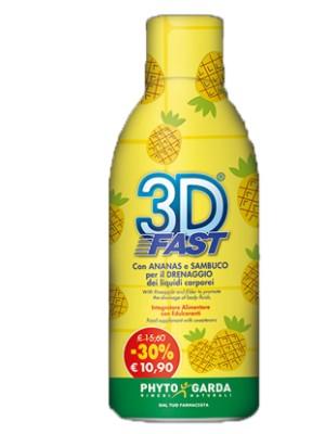 3D Fast 500 ml - Integratore di Estratti Vegetali