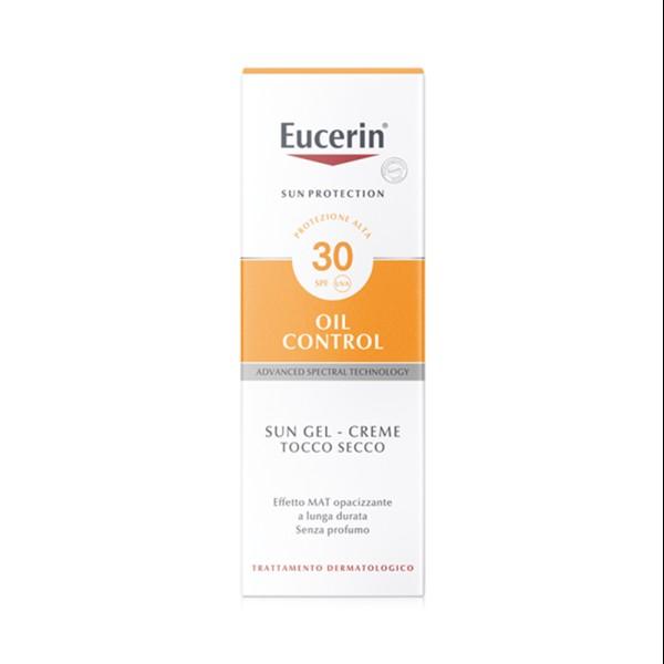 Eucerin Sun Crema Viso Oil Control Per Pelle Grassa SPF 30 50 ml