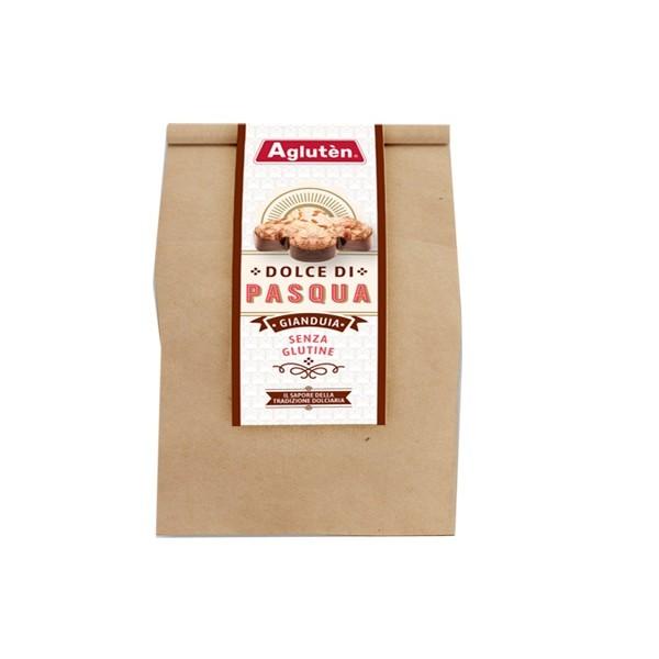 Agluten Colomba Dolce di Pasqua Gianduia Senza Glutine 500 grammi
