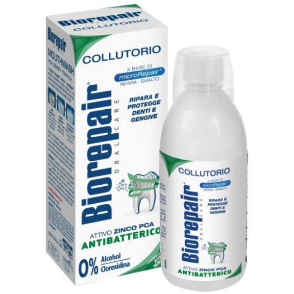 Biorepair Collutorio 3 in 1 Denti Sensibili Triplice Azione 500 ml