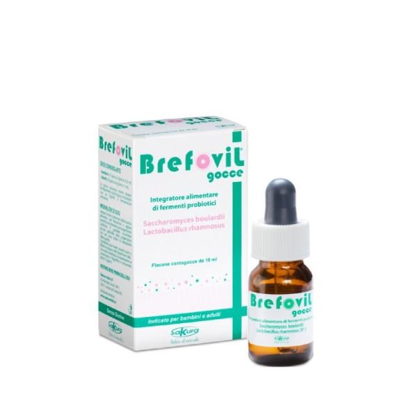 Brefovil Gocce 10 ml - Integratore Benessere Intestinale