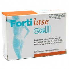 Fortilase Cell Integratore Alimentare Cellulite 30 compresse