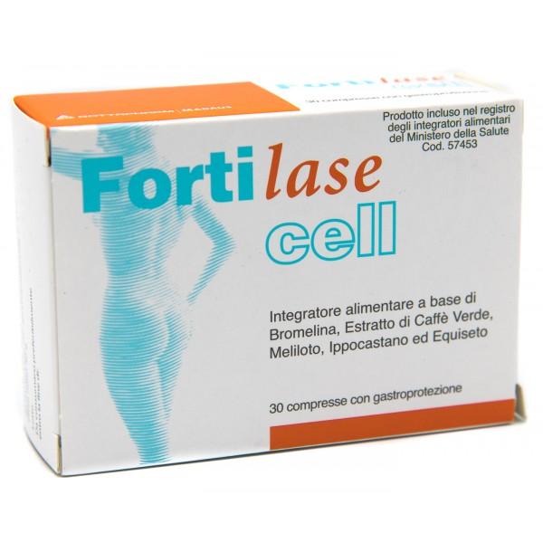 Fortilase Cell Integratore Alimentare Anticellulite 30 compresse