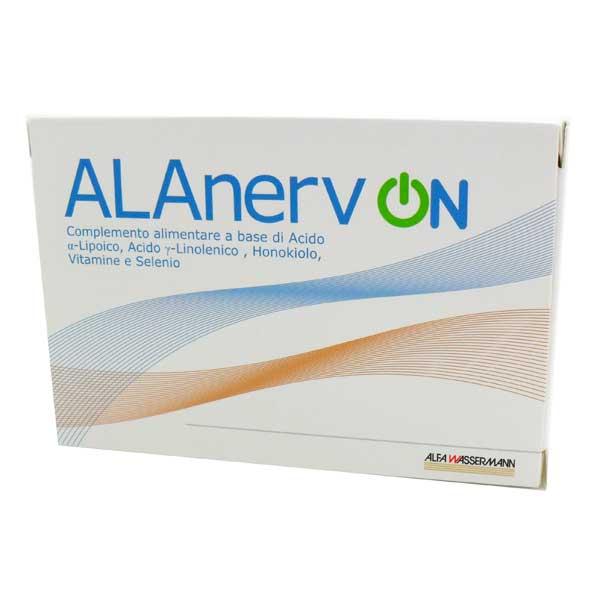 Alanerv On Integratore Antiossidante Neurotrofico 20 Compresse