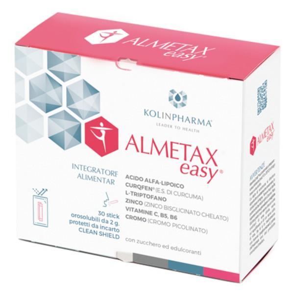 Almetax Easy 30 Bustine Orosolubili - Integratore Alimentare
