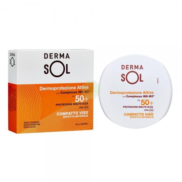 Dermasol Compatto Viso Colore Naturale 01 SPF 50+ 10g