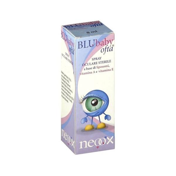 BluBaby Ofta Spray Oculare Lubrificante 8 ml