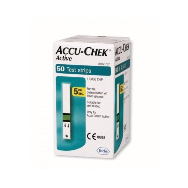 Accu-Chek Active Strisce Reattive Glicemia 50 Pezzi
