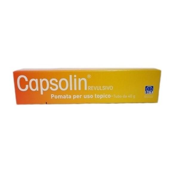 Capsolin Revulsivo Pomata Dolori Articolari 40 grammi
