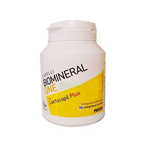 Biomineral One Lactocapil Plus Integratore Capelli 90 Compresse