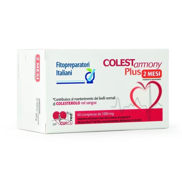 Selerbe Colestarmony Plus 60 Compresse - Integratore per Colesterolo
