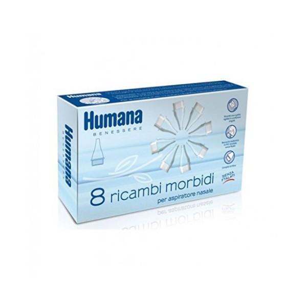 Humana Ricambio Morbido Aspiratore Nasale 8 pezzi