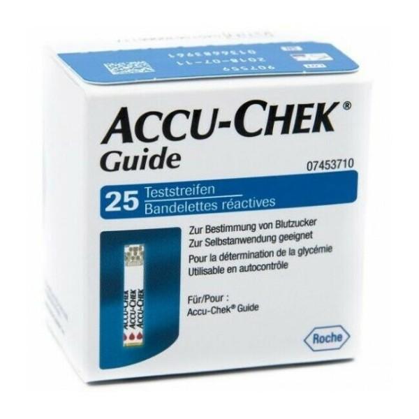 Accu-Chek Guide Strisce Reattive Glicemia 25 Pezzi