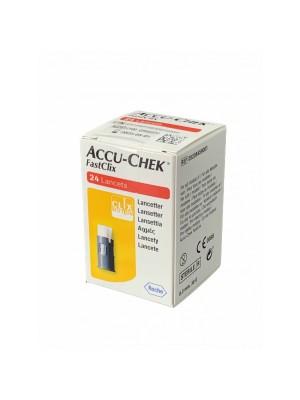 Accu-Chek Fastclix Lancette Pungidito 24 Pezzi
