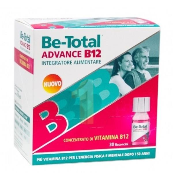 Be-Total Advance B12 Integratore di Vitamine B12  30 Flaconcini